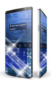 Blue Night Keypad Art screenshot 1