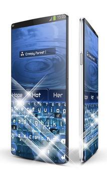 Blue Night Keypad Art screenshot 2