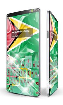 Guyana Keypad Art poster