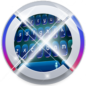 Digital Blue Keypad Art icon
