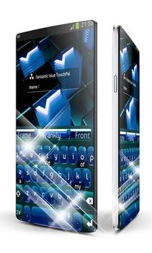 Digital Blue Keypad Art apk screenshot