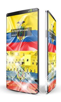 Ecuador Keyboard apk screenshot