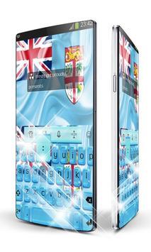 Fiji Keypad Art poster