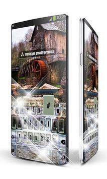 Haunted mill Keypad Art poster