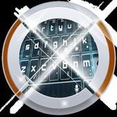 Line Art Keypad Art icon