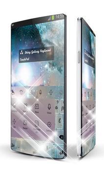 Shiny Galaxy Keypad Art apk screenshot