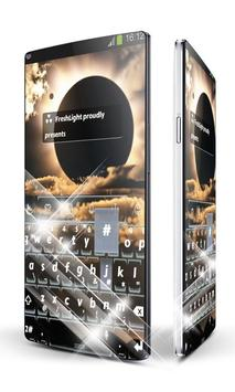 Sunset glow Keypad Art apk screenshot