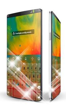 Paint burst Keypad Art poster