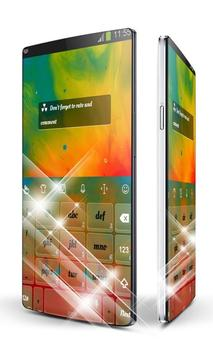 Paint burst Keypad Art apk screenshot