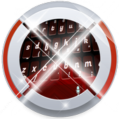 Red and Black Keypad Art icon