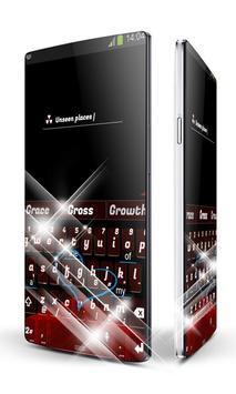 Red and Black Keypad Art apk screenshot