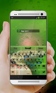 Tiny Lizard Keypad Design apk screenshot