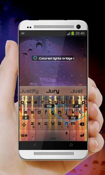 Warm Waters Keypad Design apk screenshot