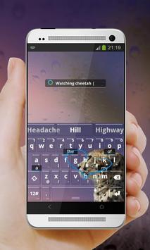 Wistful Cat Keypad Design apk screenshot