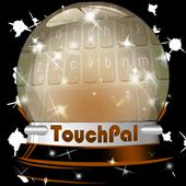 Yellow champion Keypad Design icon
