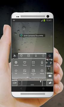 Drill Cartoons Keypad Design apk screenshot