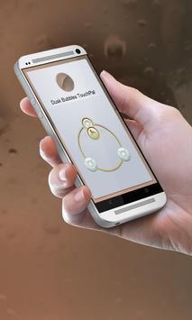 Dusk Bubbles Keypad Design poster