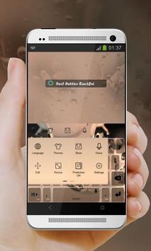 Dusk Bubbles Keypad Design apk screenshot