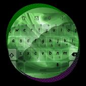 Green Flame Keypad Design icon