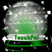 Greenish galaxy Keypad Design icon