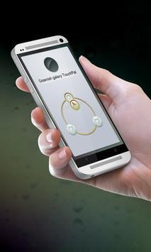 Greenish galaxy Keypad Design poster