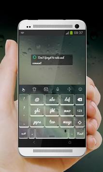 Greenish galaxy Keypad Design screenshot 4