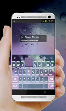 Purple inspiration Keypad poster