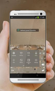 Refined gravel Keypad Design apk screenshot