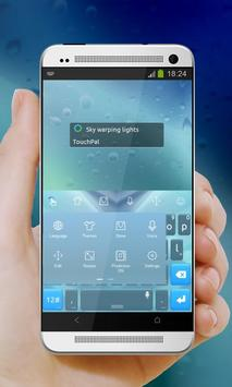 Sky warping lights Keypad screenshot 7