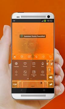 Summer fruits Keypad Design screenshot 2