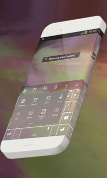 Mysterious space Keypad Skin apk screenshot
