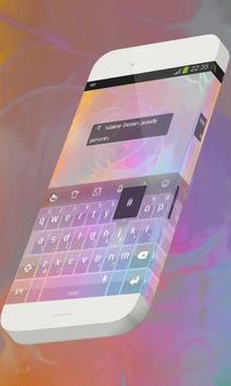 Purple rose Keypad Skin poster