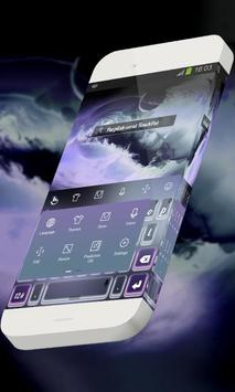 Purplish coral Keypad Skin screenshot 1