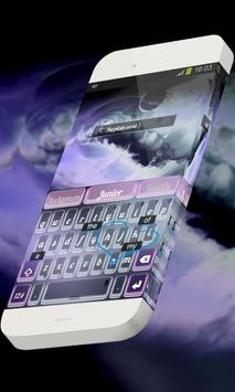 Purplish coral Keypad Skin screenshot 2
