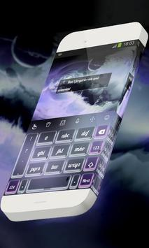 Purplish coral Keypad Skin screenshot 3