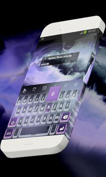 Purplish coral Keypad Skin screenshot 8