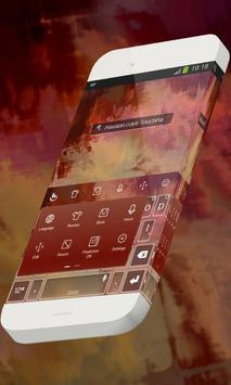 Passion color Keypad Skin screenshot 1