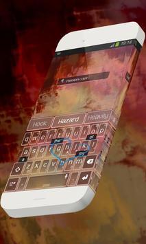 Passion color Keypad Skin screenshot 2