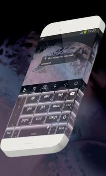 Peaceful nights Keypad Skin apk screenshot