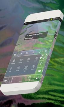 Power of colors Keypad Skin apk screenshot