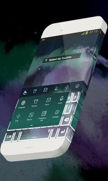 Radiant sky Keypad Skin apk screenshot