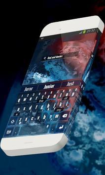 Red and denim Keypad Skin screenshot 10