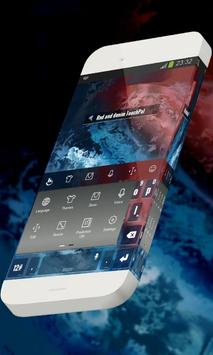 Red and denim Keypad Skin screenshot 5