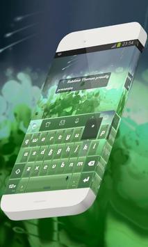 Refreshing nature Keypad Skin apk screenshot