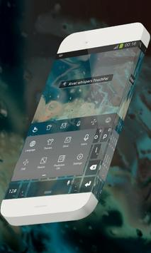 River whispers Keypad Skin apk screenshot