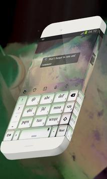 Stars cluster Keypad Skin apk screenshot
