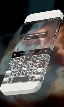 Stellar scenery Keypad Skin apk screenshot