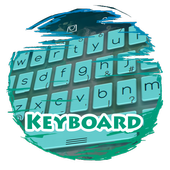 Stormy waves Keypad Skin icon