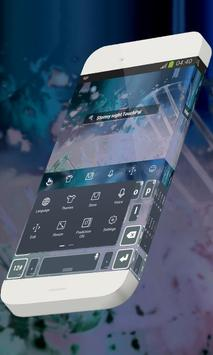 Stormy night Keypad Skin apk screenshot