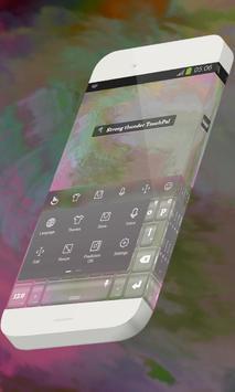 Strong thunder Keypad Skin apk screenshot